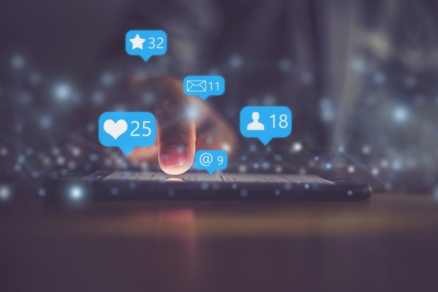 promote events on social media